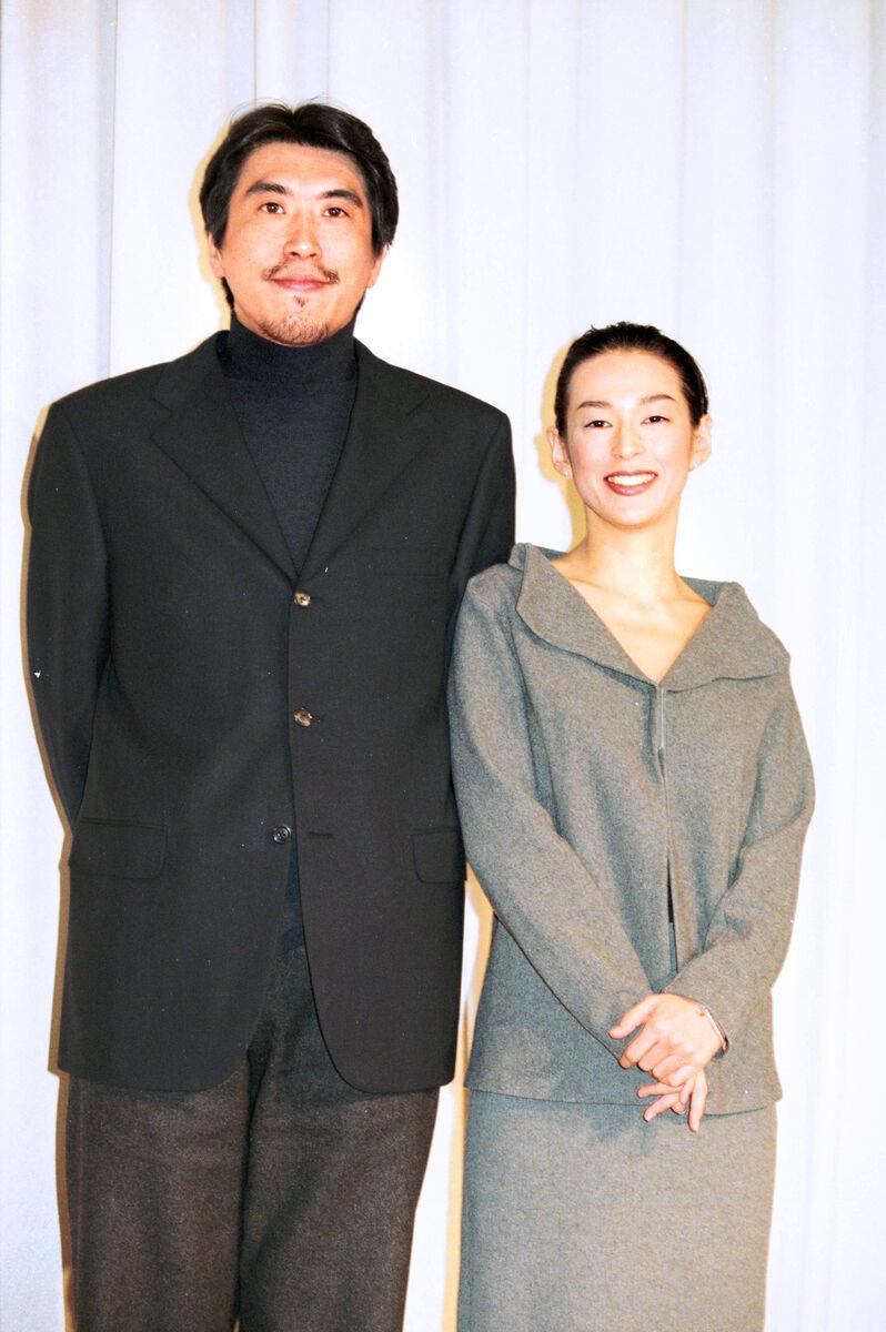 石橋貴明・鈴木保奈美の結婚会見(1998年11月14日)