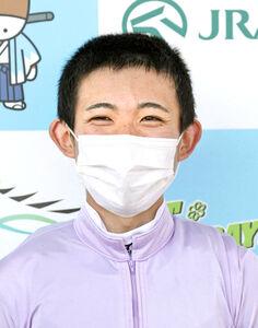 2年目の泉谷楓真騎手は、うれしい重賞初勝利