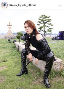 氷川きよしのインスタグラム(@hikawa_kiyoshi_official)より