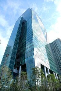テレビ東京が入る、六本木グランドタワー