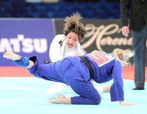 500号メダルが期待される柔道女子48キロ級の渡名喜風南