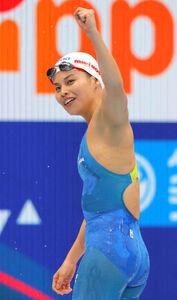4月の日本選手権を最後に引退した、元リオ五輪代表の清水咲子さん