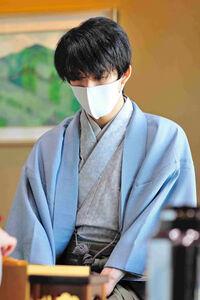 王位戦七番勝負第3局2日目に臨んだ藤井聡太王位