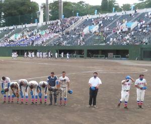 サヨナラ負けで6大会連続優勝を逃した花咲徳栄ナイン