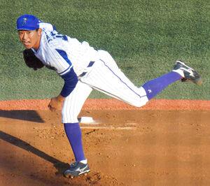 イースタン・日本ハム戦に登板して2回2失点だったDeNA・今永昇太投手