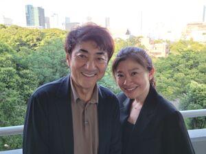 離婚を発表した市村正親、篠原涼子。7月に都内で撮影された