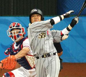 08年、背番号「55」で北京五輪に出場した村田修一