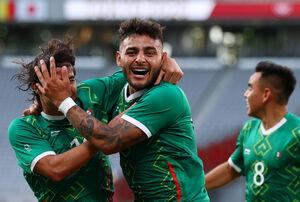 フランスに大勝したU―24メキシコ代表(ロイター)