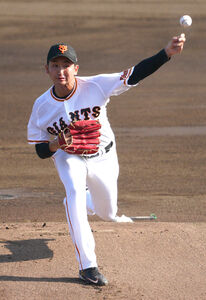 先発した横川は2回まで完全投球