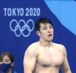 男子200mバタフライ 準決勝で敗退した瀬戸大也(カメラ・竜田 卓)