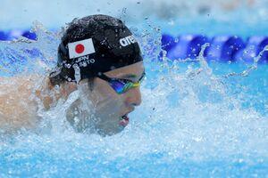 男子200mバタフライ 力泳する準決勝で敗退した瀬戸大也(カメラ・竜田 卓)