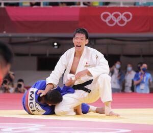 ゴールデンスコアの末、金メダルを獲得した永瀬貴規(カメラ・相川 和寛)