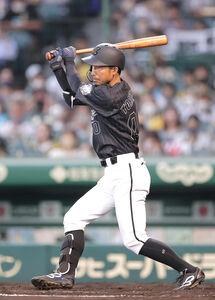 4回2死三塁、同点となる中前適時打を放つ鳥谷敬
