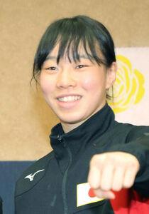 ボクシング女子フェザー級の入江聖奈