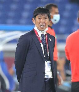 3連勝で首位突破を決めたU24日本代表の森保一監督