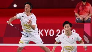 遠藤大由(左)、渡辺勇大組(ロイター)