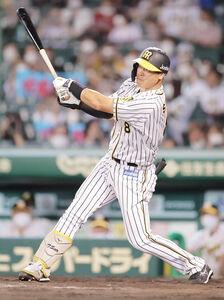 5回2死一塁から2ランを放った佐藤輝