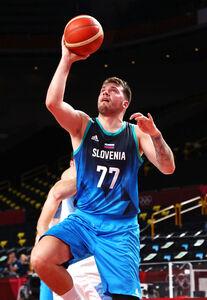 バスケットボール・スロベニアのドンチッチ(ロイター)