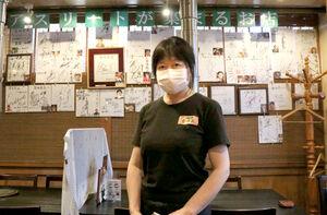 焼き肉店「香味苑」のオーナー・張美霞さん