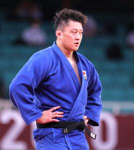 男子100㌔超級3位決定戦、反則負けで銅メダルを逃した原沢久喜(カメラ・相川 和寛)