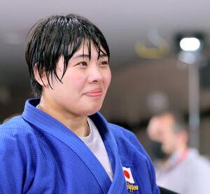 金メダルを獲得し、笑顔を見せる素根輝(カメラ・相川 和寛)