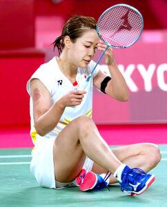 女子シングルス準々決勝で敗退した奥原希望