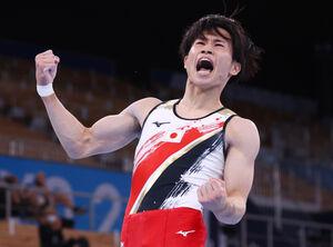 萱和磨が銅メダル獲得(ロイター)