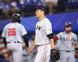 フレージャーに左中間へ適時二塁打を打たれた田中将大