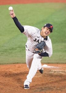 5番手で登板した山崎康晃