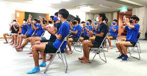 3000M障害で7位入賞の三浦龍司を応援した順大長距離チーム