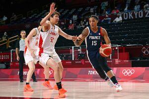 フランスと対戦したバスケットボール女子日本代表(ロイター)
