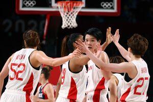 決勝進出を狙うバスケットボール女子日本代表(ロイター)
