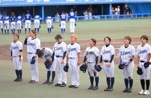 準々決勝で東海NEXUSに敗退した西武ライオンズレディース(カメラ・軍司 敦史)