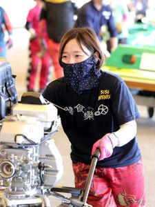 西岡は7月の尼崎でデビュー初優出した