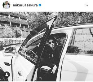 朝倉未来のインスタグラム(@mikuruasakura)より