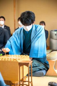 藤井聡太三冠(日本将棋連盟提供)