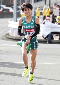 今年1月の箱根駅伝で9区を走った飯田貴之