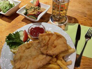 オーストリアを代表する料理の一つシュニッツェル