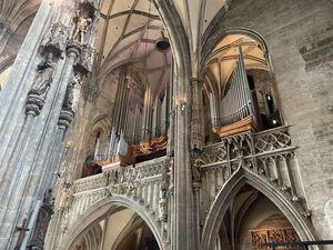 シュテファン大聖堂のパイプオルガン