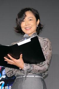 ジャパンプレミアイベントで司会を担当した有働由美子アナ