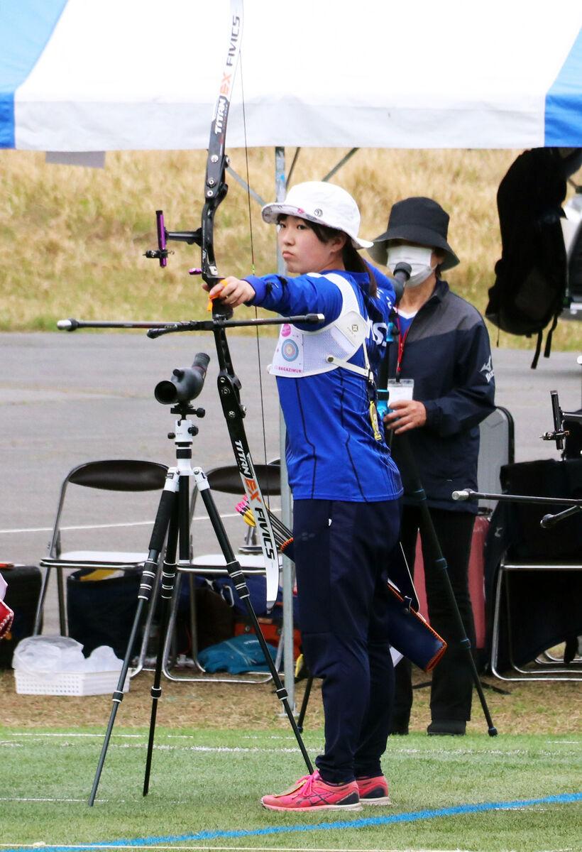 4月の世界選手権代表選考会で優勝した日体大・渡辺