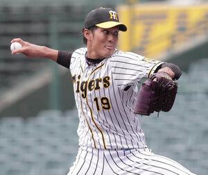 6回4安打1失点と好投した阪神・藤浪晋太郎