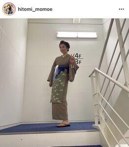 高橋ひとみのインスタグラム(@hitomi_momoe)より