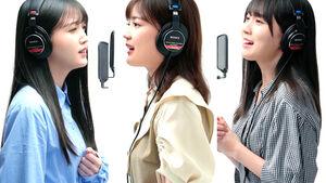 YouTubeチャンネル「THE FIRST TAKE」に初登場する乃木坂46の(左から)久保史緒里、生田絵梨花、賀喜遥香