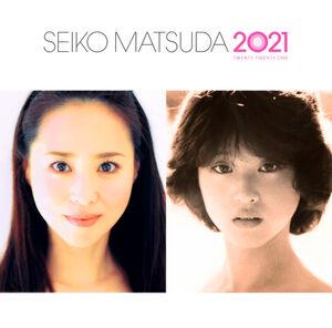 「SEIKO MATSUDA 2021」の通常盤。1980年のデビュー直前(右)と現在の松田聖子