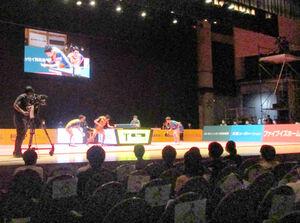 Tリーグ史上初めて劇場で開催された彩たまのホーム開幕戦