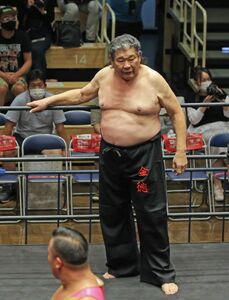 14日の日本プロレス史70周年記念「LEGACY」に出場したタイガー戸口(カメラ・泉 貫太)