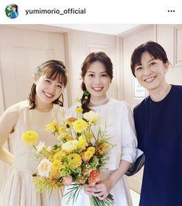 森尾由美のインスタグラム(@yumimorio_official)より